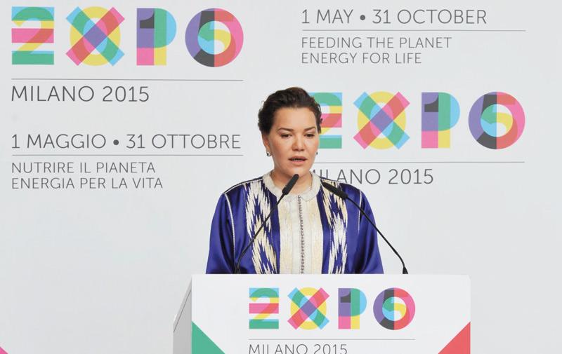 Expo Universelle Milano 2015: Un Pavillon marocain haut en couleurs