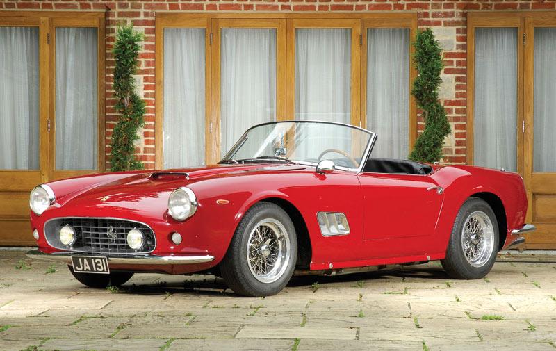 14 millions d'euros pour une  Ferrari conduite par Alain Delon !