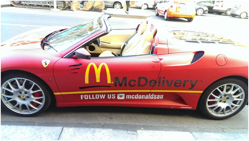 McDelivery version australienne