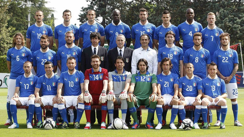 Coupe du monde 2014 : Equipe d'Italie