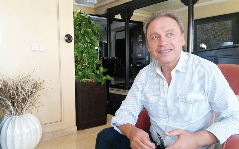 Driss Mrini, «Aïda» aborde des questions universelles