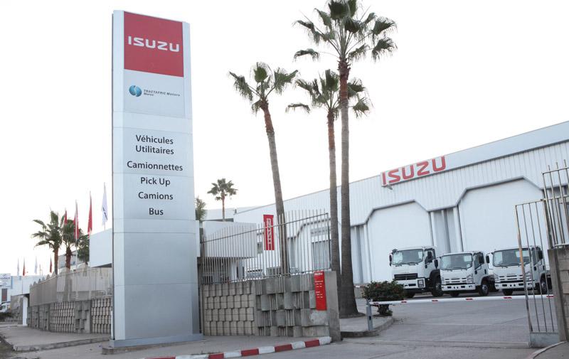 Optorg s'allie à Itochu: Des camions Isuzu sur le marché Maroc
