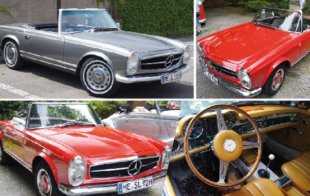 Il était une fois… Mercedes 230 SL : Une étoile aux airs de pagode…