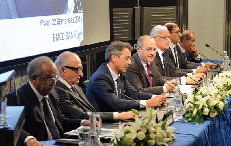 Plus d'1 milliard DH de résultat net part du groupe en un semestre : Des performances record pour BMCE Bank