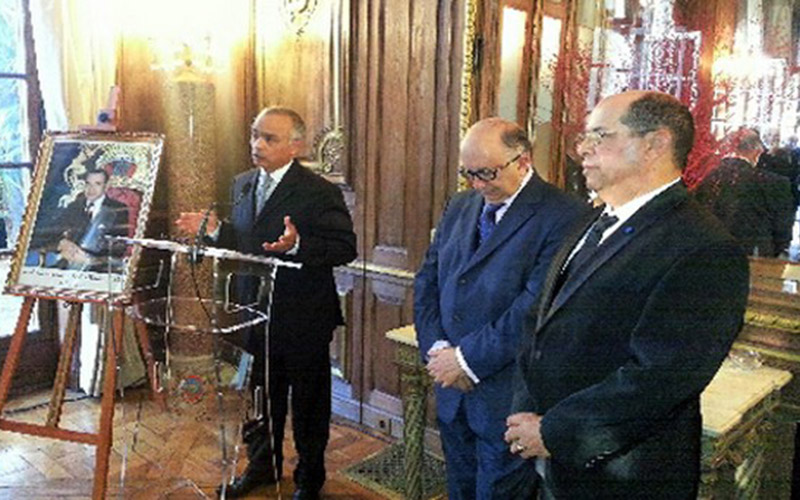 Paris : Wissams royaux remis à Gabriel Malka et Saïd El Asri