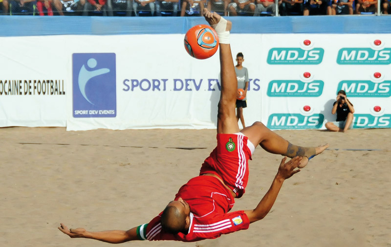 Beach soccer: Le Maroc rate le bronze à Pescara