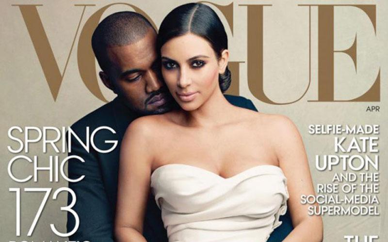 Kim Kardashian fait la couverture de Vogue, la polémique enfle