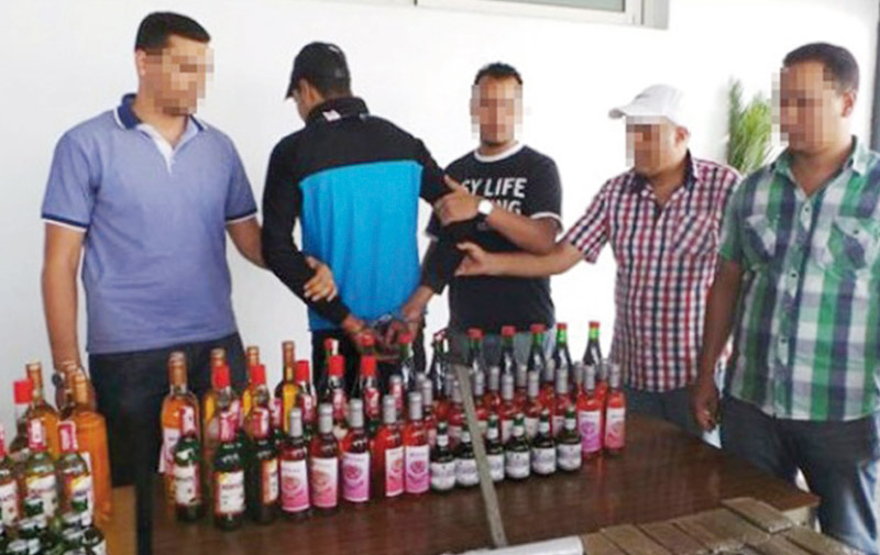 Asilah : Arrestation d'un «Guerrab» en possession de 50 bouteilles de whisky