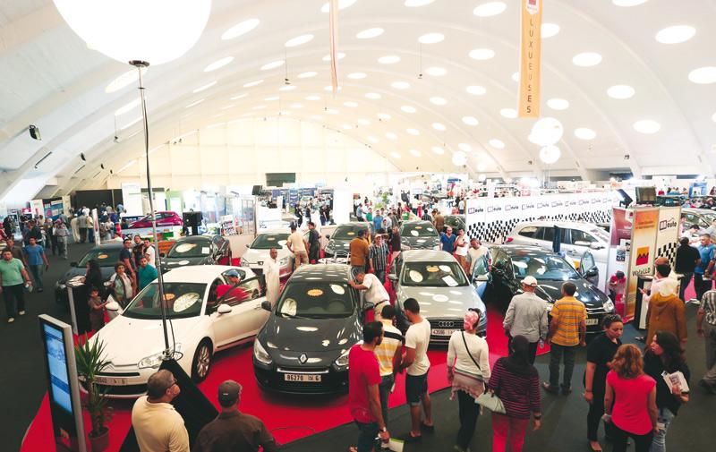 Salon de l auto d occasion casablanca les stands pris d for Salon automobile allemagne