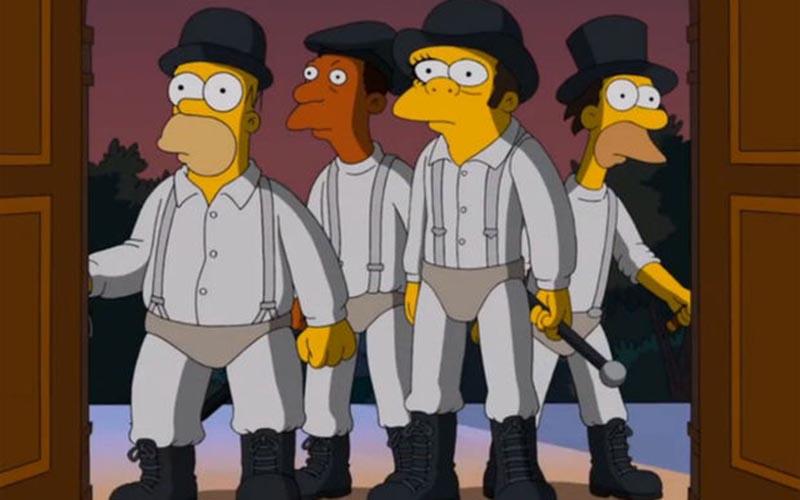 Stanley Kubrick à l'honneur chez les Simpson