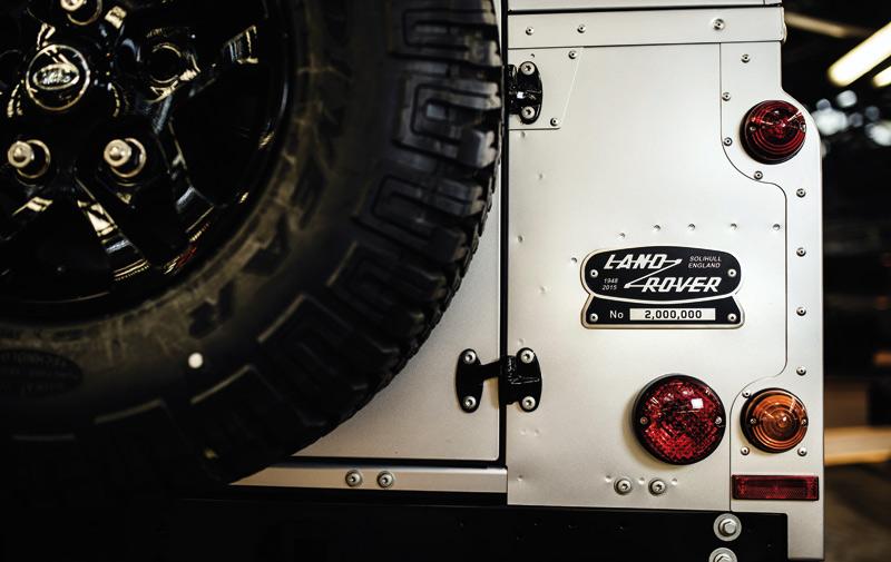 Land Rover Defender : La 2.000.000ème unité  produite sera spéciale !