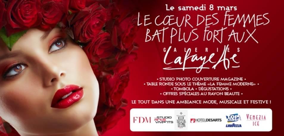 Les Galeries Lafayette en mode  «8 mars»