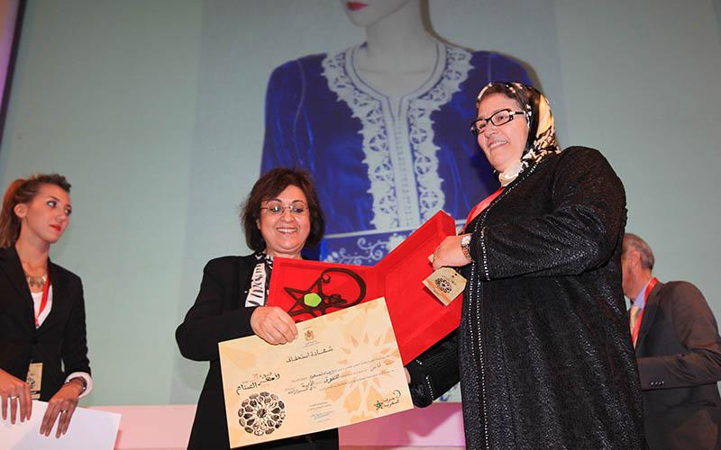 Casablanca : Remise du prix national des meilleurs artisans 2014