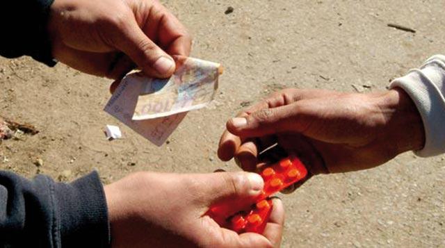 300 comprimés psychotropes saisis chez un repris de justice à Rabat