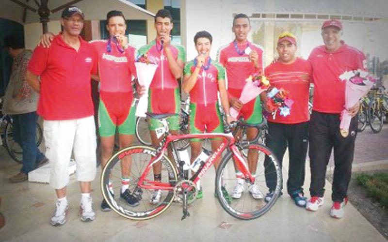 Cyclisme : Le Maroc sacré à Annaba, Mehdi Choukri maillot jaune