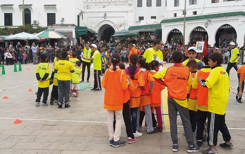 Kid's Athletic's: Nestlé Maroc incite à la bonne nutrition et l'activité physique