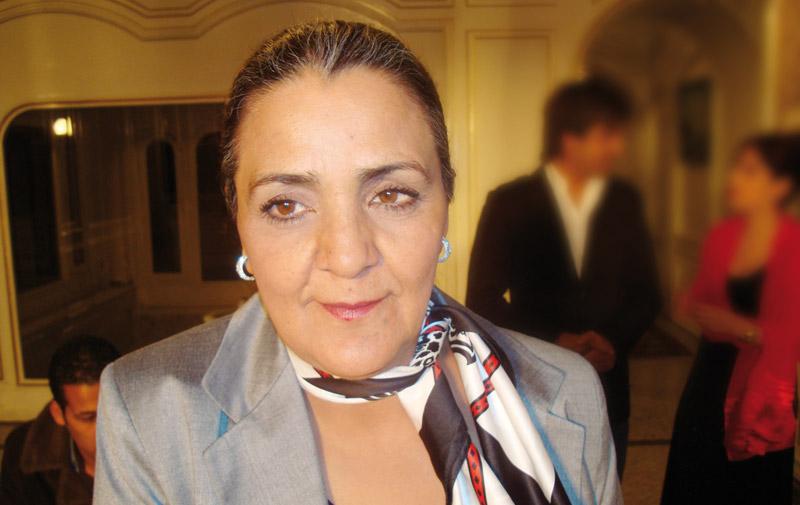 Festival international du film transsaharien de Zagora: Hommage à l'actrice  marocaine «Rawya»