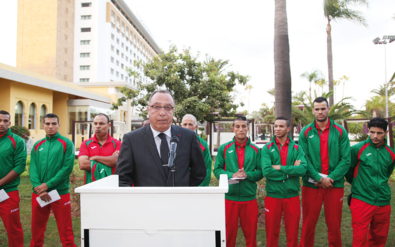 La FRMB fête les boxeurs marocains