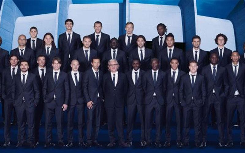 Hugo Boss habilleur officiel du PSG