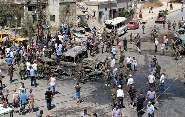 Syrie: 22 civils tués dans un triple attentat suicide