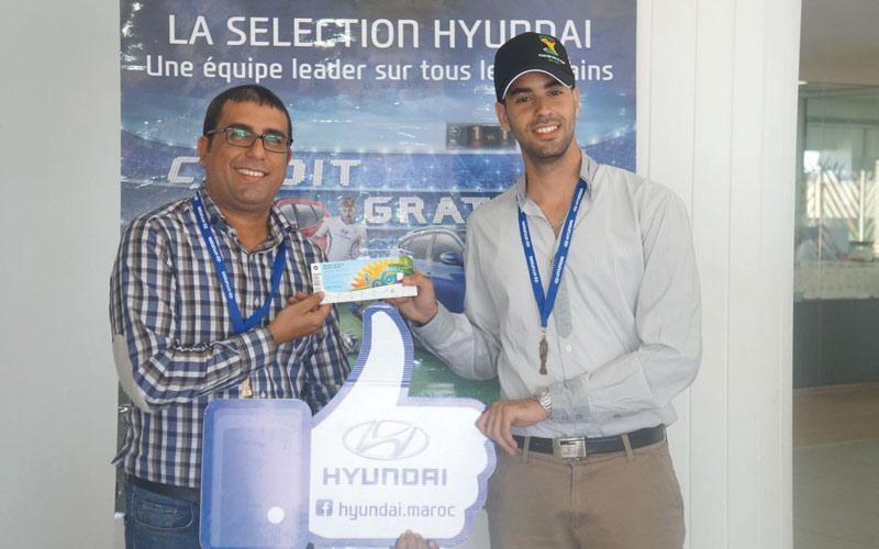 Tombola Hyundai: Le gagnant s'envolera bientôt pour le Brésil