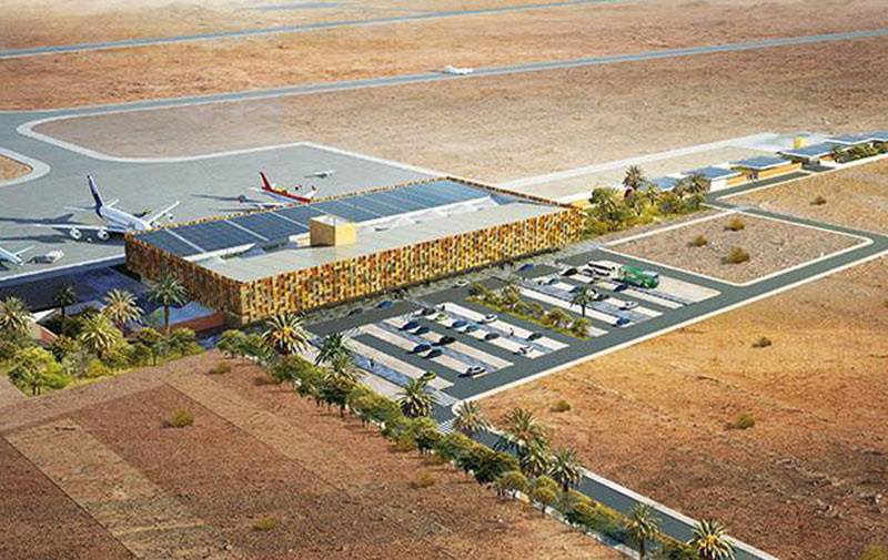 Guelmim: Mise à niveau de l'aéroport