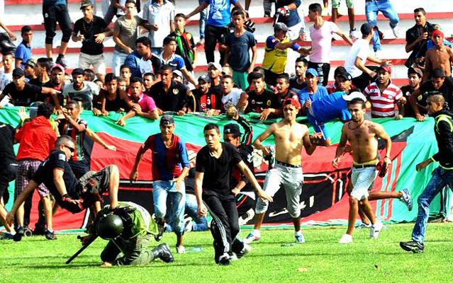 L'affiche FAR-DHJ gâchée par des actes de hooliganisme