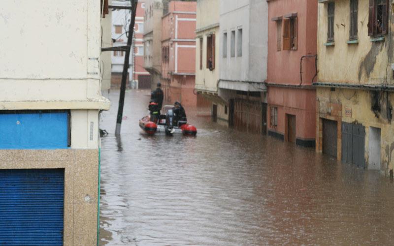 Maroc – Intempéries : 253 douars encore  isolés