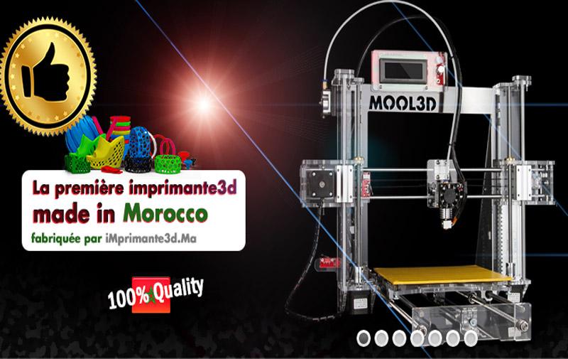 La 1ère imprimante 3D réalisée au Maroc à l'honneur au Med-IT 2015