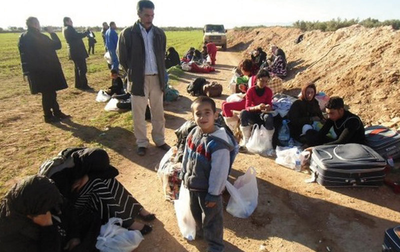 En sept mois seulement: Mellilia a accueilli 5.000 Syriens en situation irrégulière