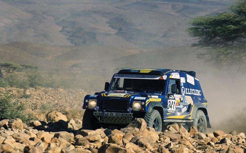 Rallye OiLibya : L'Argentin Terranova en tête