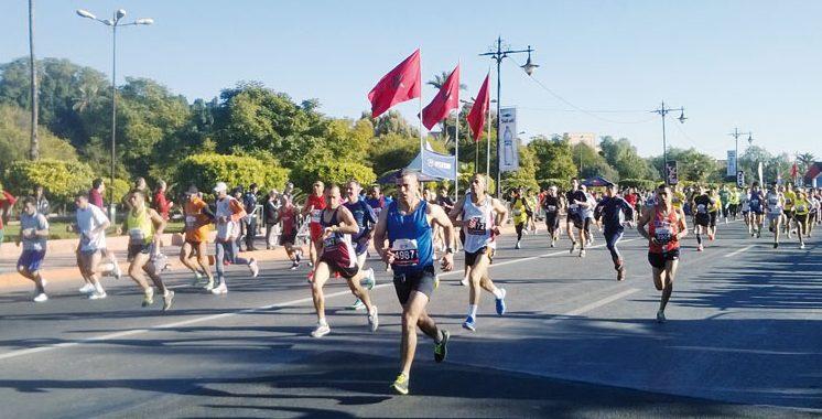 Marathon international de Marrakech: 8.000 athlètes attendus sur la ligne de départ