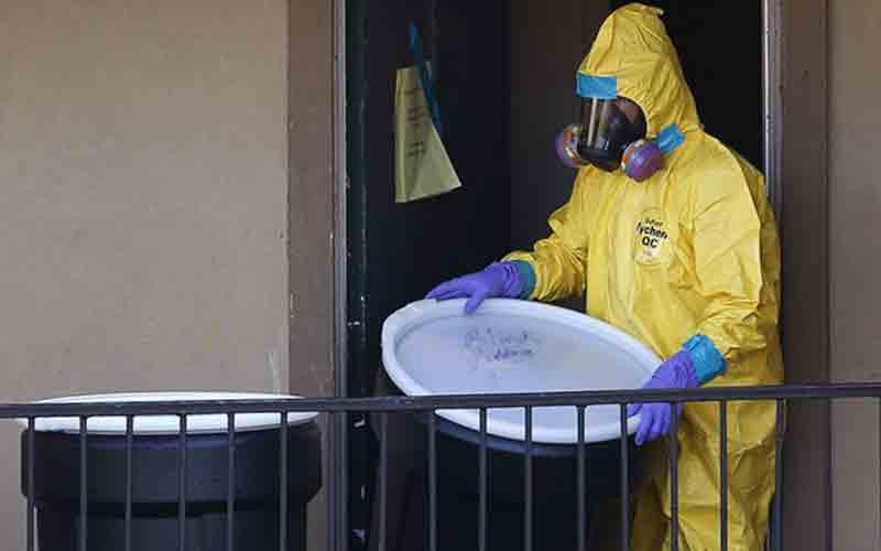 USA : premier cas d'Ebola contracté