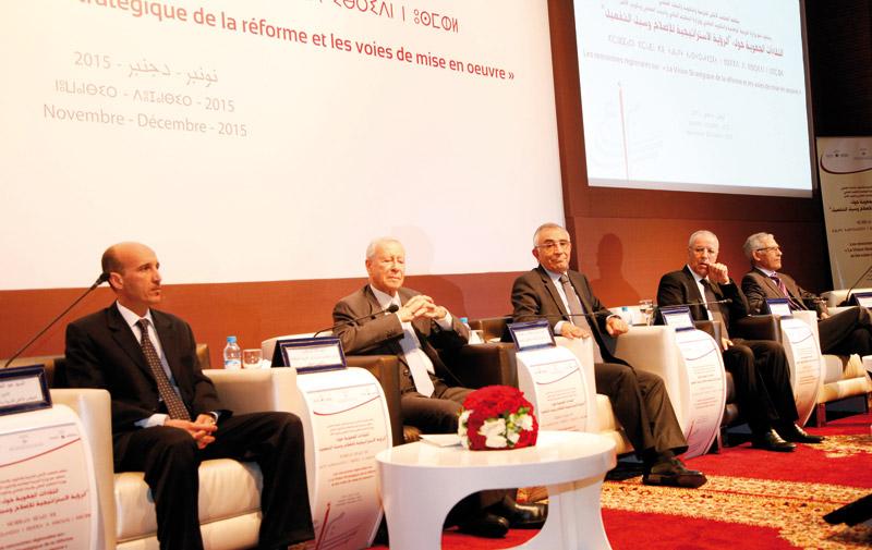 Vision stratégique de la réforme 2015-2030: Démarrage des rencontres régionales