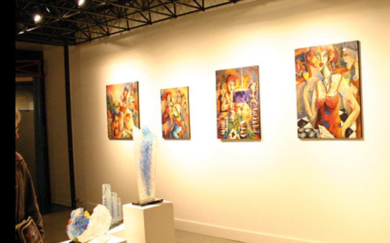 Aziza Alaoui expose ses dernières œuvres à Mexico City