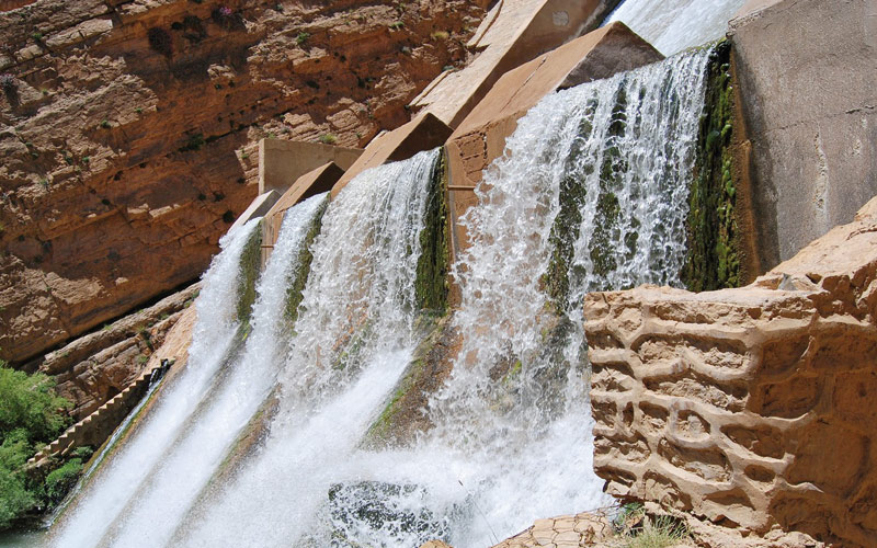 Barrages : un taux de remplissage de 74,3 % au 1er février 2015