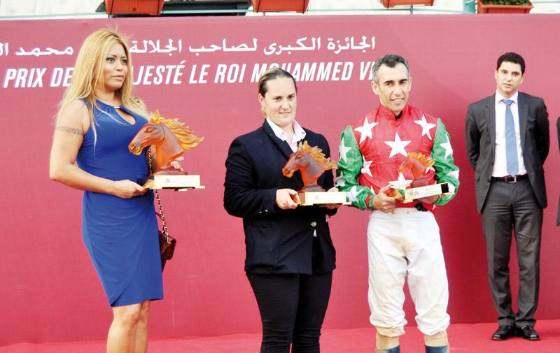 Le cheval Arkaitz remporte le Grand prix de SM le Roi Mohammed VI