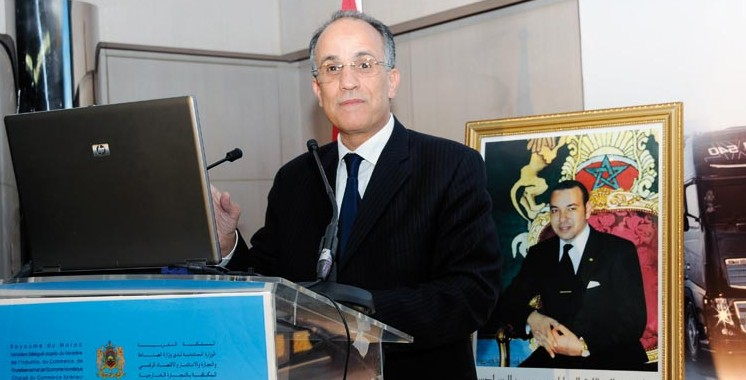 Minist re en charge du commerce ext rieur mohamed abbou for Ministere du commerce exterieur
