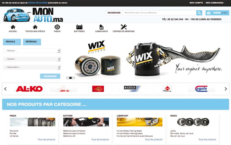 Monauto.ma : Le 1er site internet de vente de pièces détachées