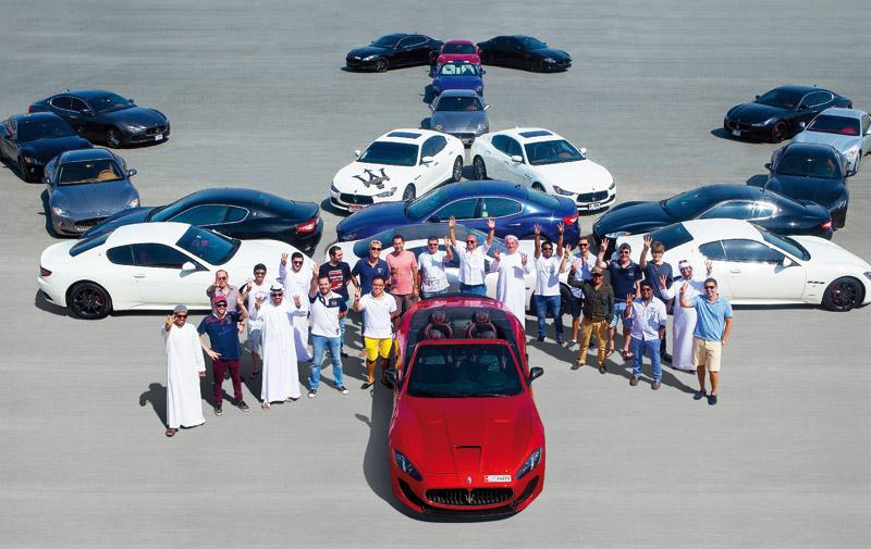 Maserati: Un nouveau club ouvre aux Emirats