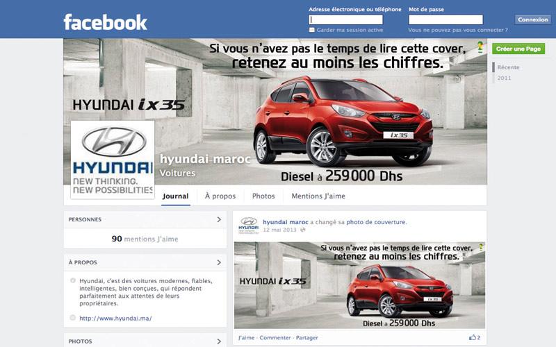 Hyundai: 200.000 fans sur sa page Facebook