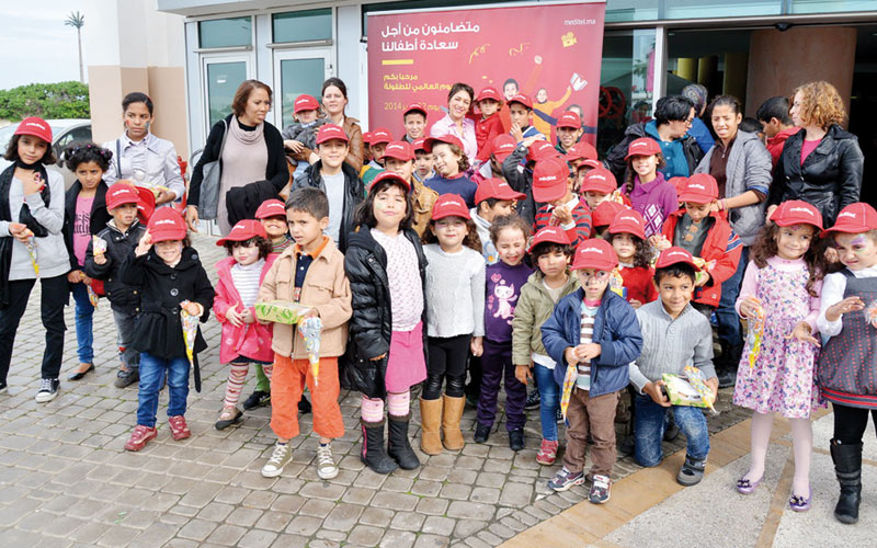 Méditel: Mobilisation en faveur des enfants démunis