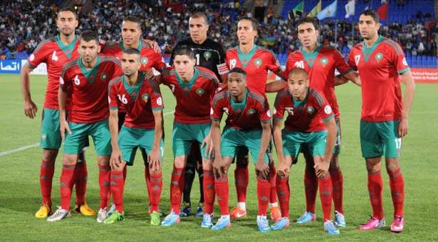 Le Maroc, 82è au classement FIFA