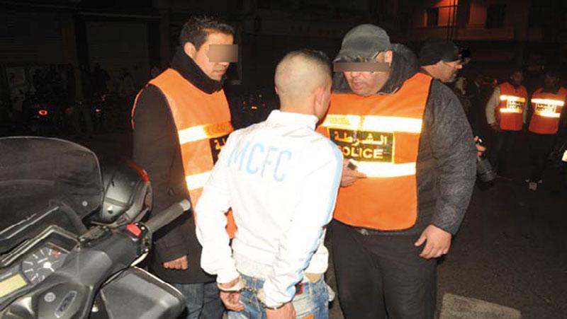 Salé: 198 personnes arrêtées en moins de 10 jours
