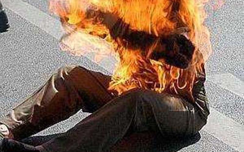 Casablanca : En protestant contre un policier, il s'immole par le feu