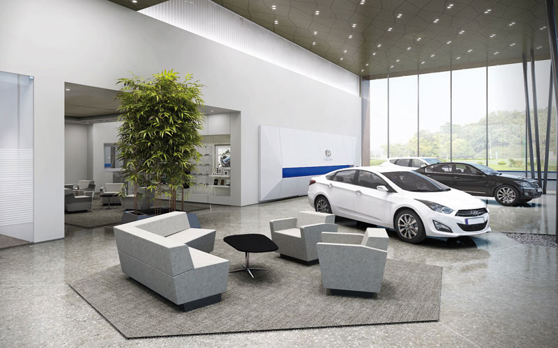 Hyundai : Des concessions plus cosy pour les clients