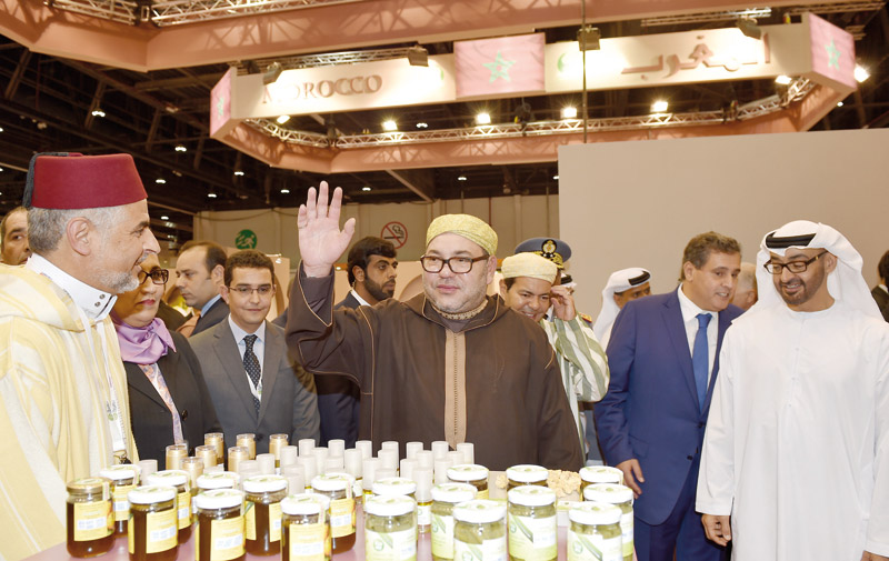 Le pavillon marocain au SIAL Moyen-Orient ravit la vedette