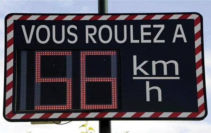 Sécurité routière: 25 autres radars pédagogiques sont attendus