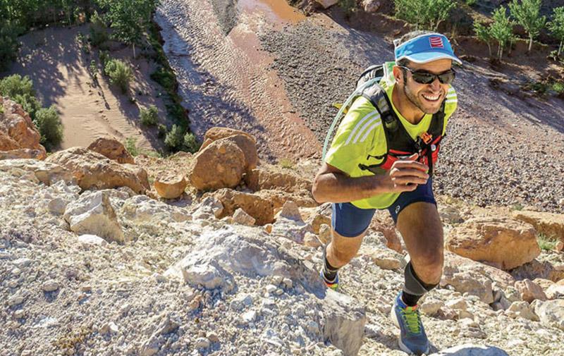 30 marathons en 30 jours: Tarik El Mlih accueilli en héros