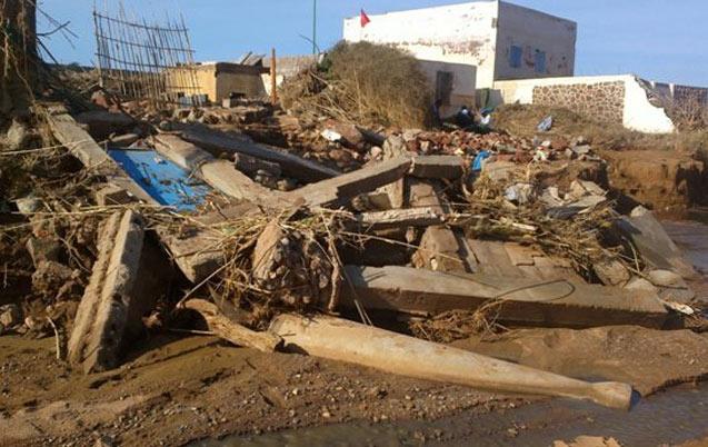 Sidi Ifni: Une victime des crues retrouvée sous les décombres de sa maison